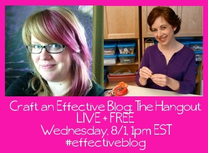 Hangout about crafting an effective blog