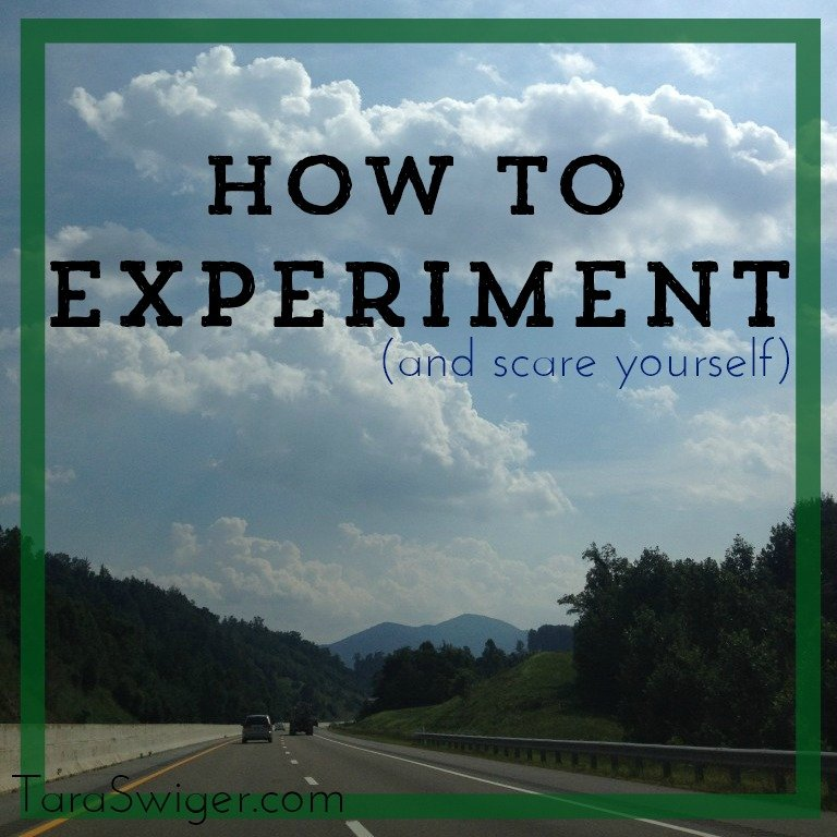 how to experiment