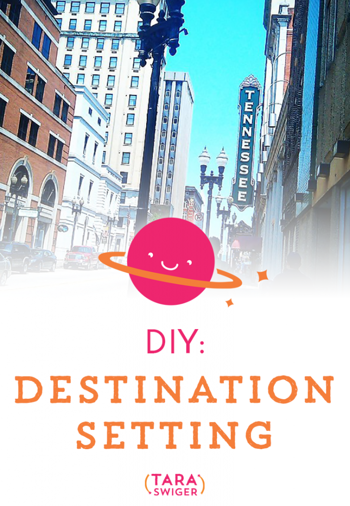 DIY: Destination setting