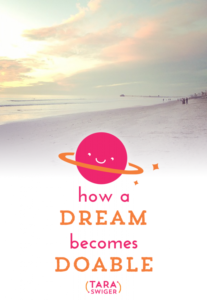 How a dream becomes doable