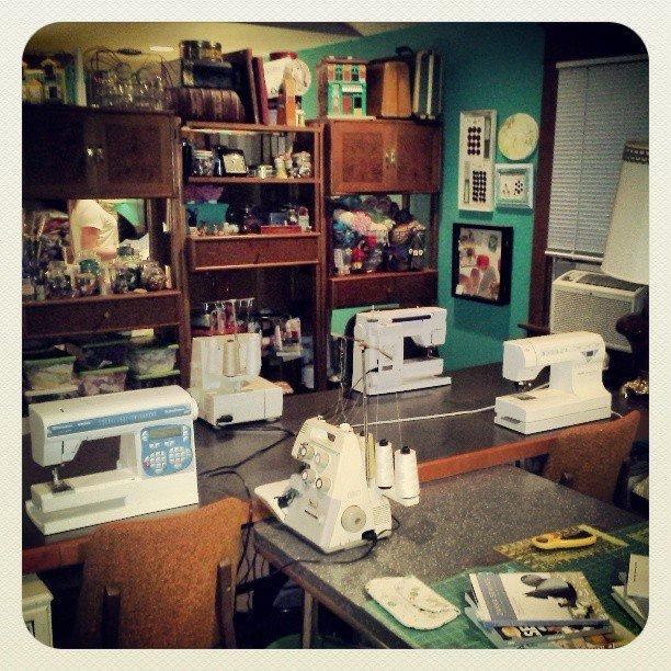 Gabrielle's studio