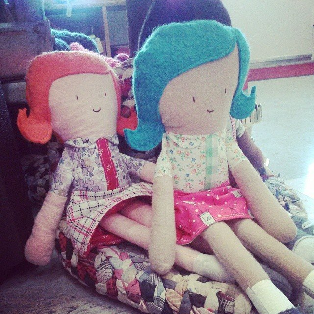 Dolls from Gabrielle's product line