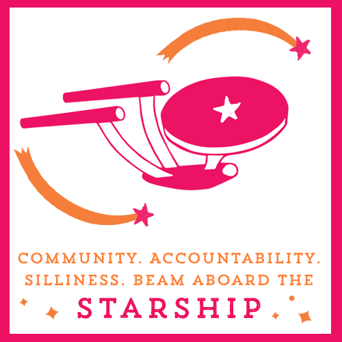 Find community aboard the Starship, on TaraSwiger.com