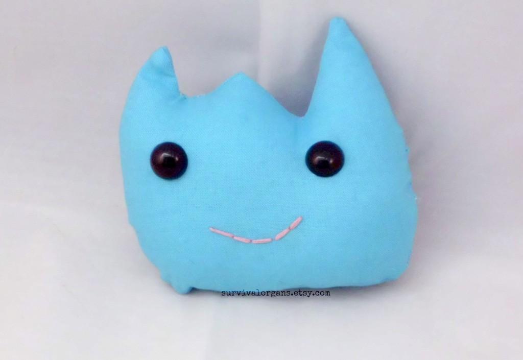 Vanessa's little thyroid soft toy