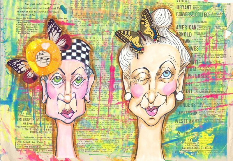 Violette Clark's Art, on TaraSwiger.com