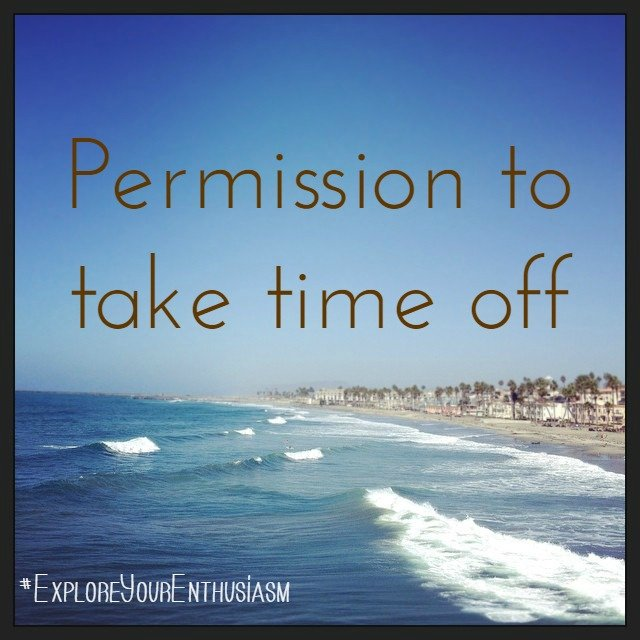 Permission to take time off