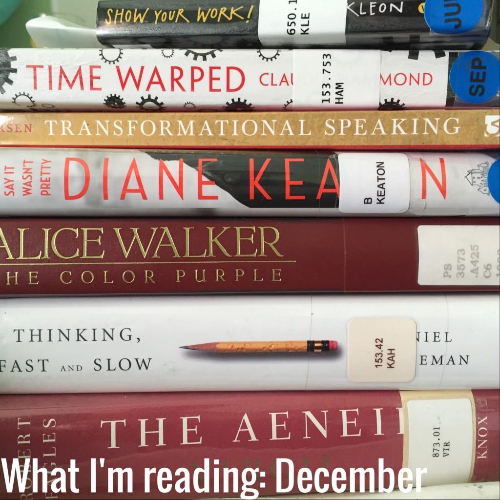 What I'm reading December 2014