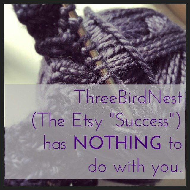 ThreeBirdNest has nothing to do with you