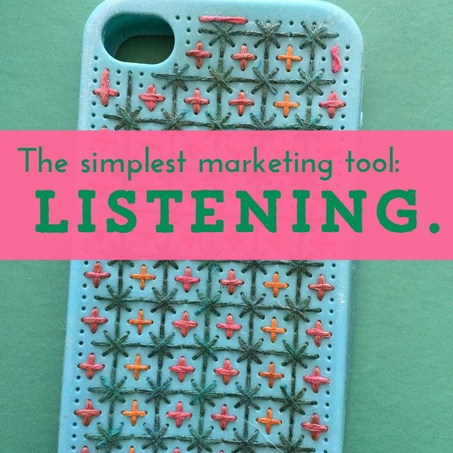 simplest marketing tool listening