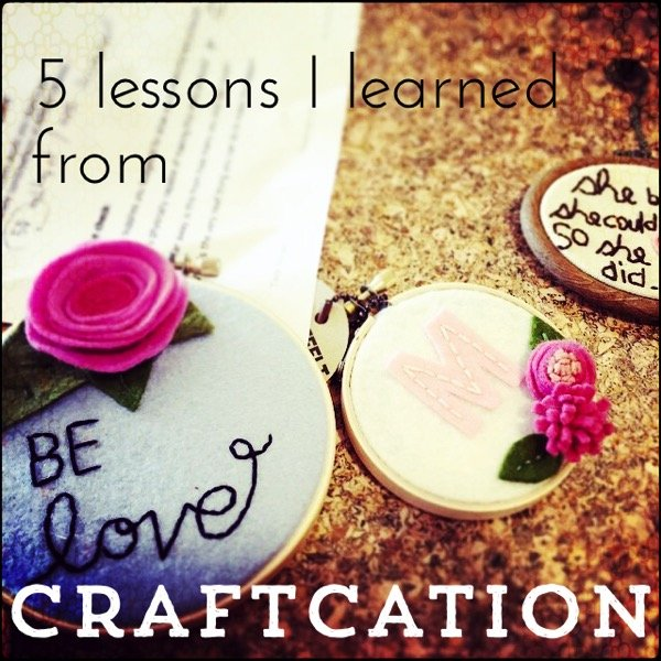 5lessonsfromcraftcation