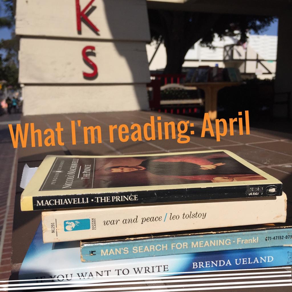 What I'm Reading April 2015