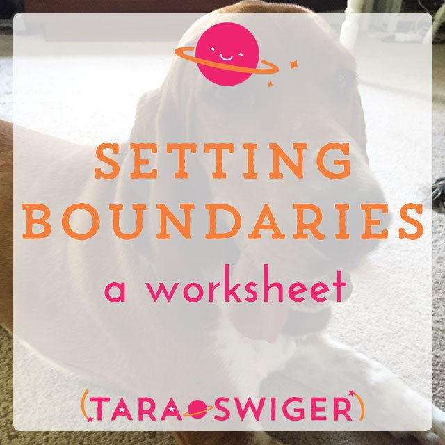 Get your FREE worksheet to help you establish healthy boundaries for your family + your business. Set aside regular working time, make time for family, and find balance in your work life! More information at TaraSwiger.com.