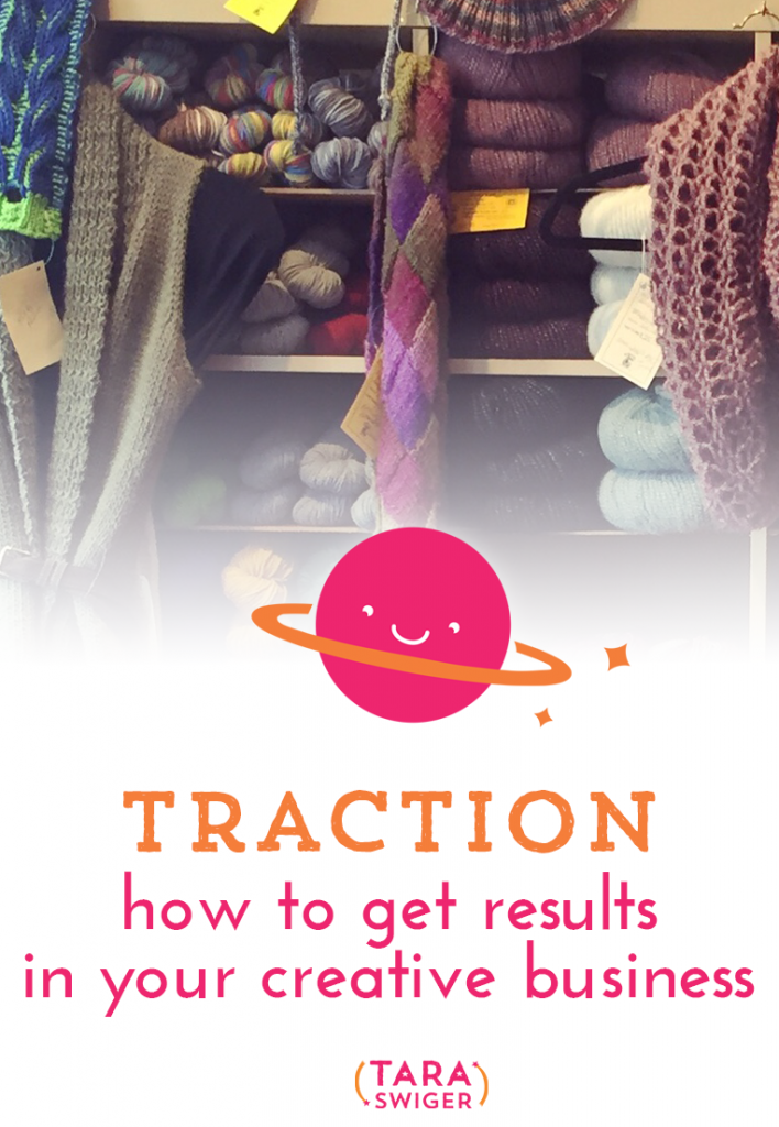 How do you get traction in your creative business? How do you start making consistent sales? And what if you haven't yet and feel dejected? In this episode, I'll share 4 keys for gaining traction, connecting with customers, and making regular sales. On TaraSwiger.com