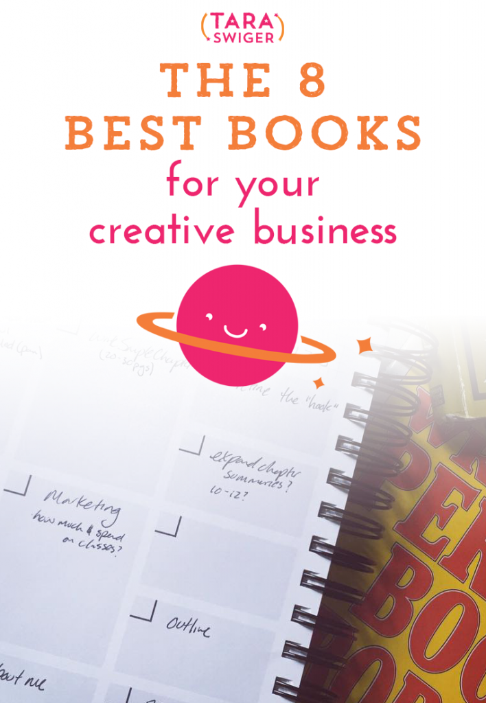 There are so many great books for creative business owners out there, but everyone needs to read something different, depending on where they are in their business journey. Today on the podcast I'm sharing the 8 best books I can think of for every stage of business. Listen in at TaraSwiger.com/podcast90/
