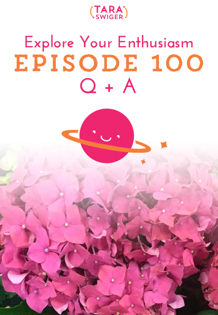 YOU GUYS! It's episode 100! I can't believe that we have been hanging out for 100 episodes (I can't believe I stuck with it! I can't believe YOU stuck with me!). To celebrate, I did something all new - a call-in show! I invited you, in episode 98, to call me with your questions. And you did - yay! And boy, your questions were awesome! The first question got me so fired up that I created a totally new worksheet for you, to help you figure out your own best email opt-in! To listen in and get the FREE worksheet visit TaraSwiger.com/podcast100