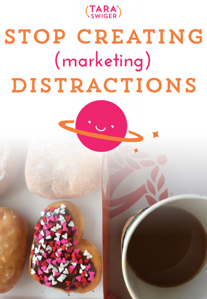 You can make your marketing more effective with making one easy switch: Chose one thing, and plan all your marketing around it, for 2-4 weeks. It sounds easy, but it's also easy to get distracted! So how do you pick your focus and avoid distractions? And how does this make your marketing more effective? Listen in to learn more, and get the FREE worksheet, at TaraSwiger.com/podcast102/.