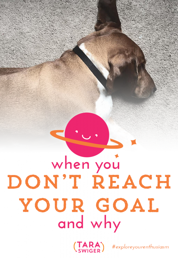 What do you do when you don't reach your goal? How do you identify what went wrong (if anything) and set a better goal next time? This week we'll cover the 6 reasons your goal might have failed, and how to set a better goal next time. I created a free worksheet so that you can set reachable, do-able goals every time! Just click on the image, put in your email address and you'll get it in your inbox (along with the full transcript of this episode!).
