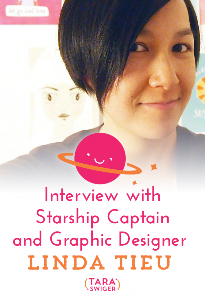 Today I'm chatting with full time graphic designer Linda Tieu about how she balances her work with two small kiddos, on TaraSwiger.com.
