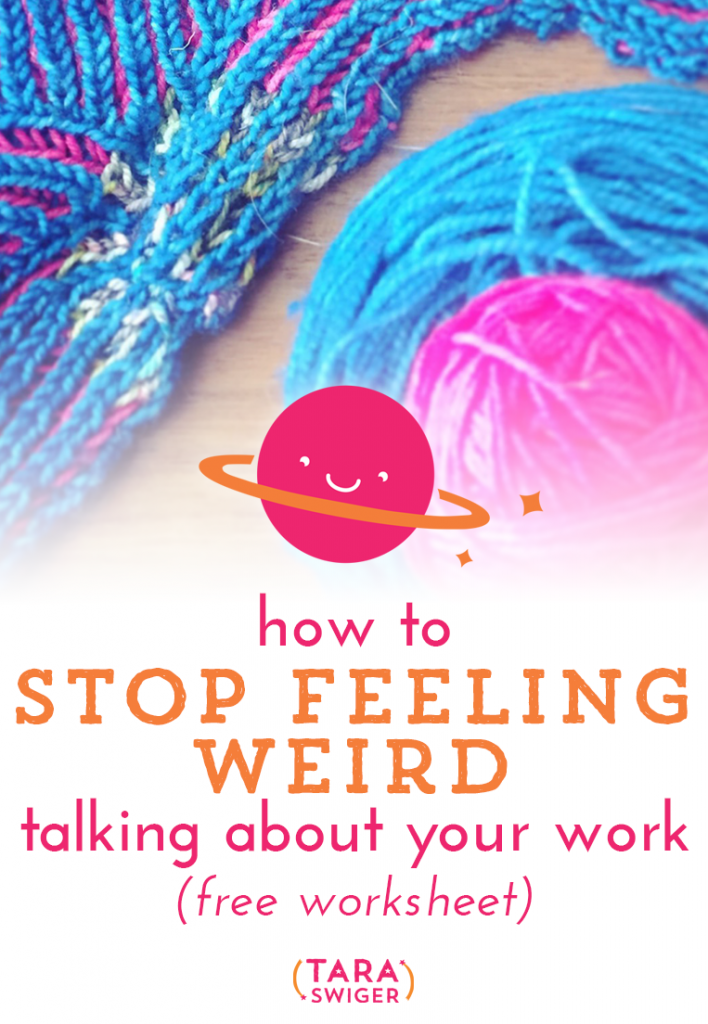 How do I describe what it is I do? How do I talk about my work? This is the question we nearly all have. Here's what you need to do to talk about your work effectively AND the key to feeling more comfortable. Click through for your free worksheet!