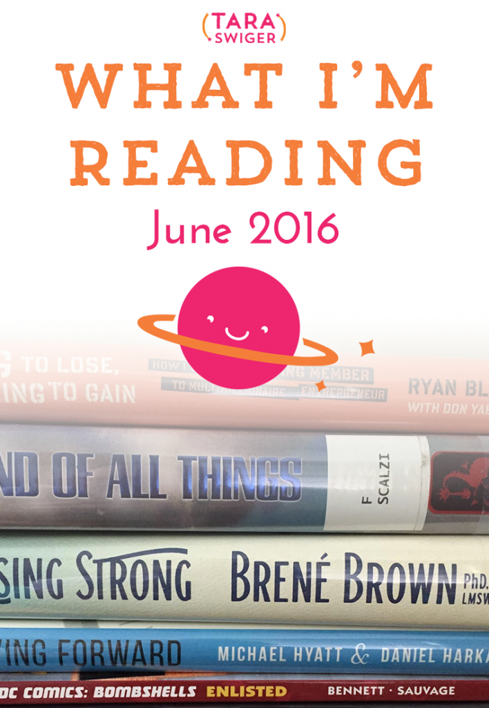 What I'm reading in June: SuperBetter and lots of novels.