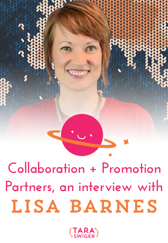 Today we're talking about collaborating and finding promotion partners with knitwear designer Lisa Barnes. Lisa discusses how she found collaborator (and fellow Starship Captain!) Ann Tudor and how they created a new product together, and how she connected with yarn shops. Get the links & more at TaraSwiger.com/podcast118/