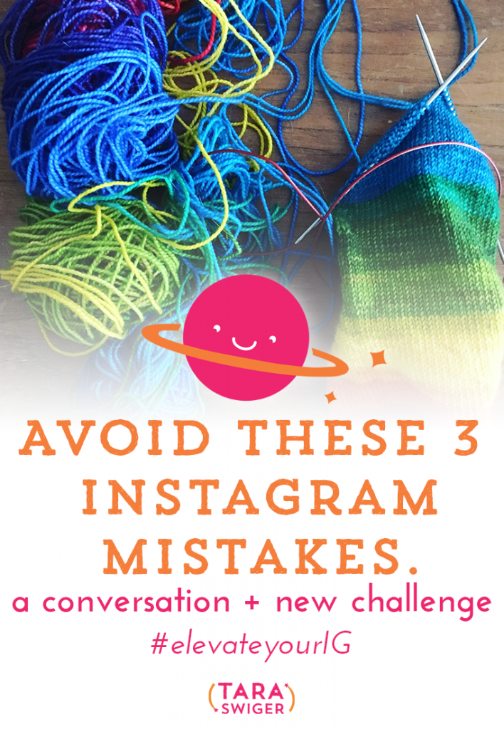 Today on the podcast, I'm not alone! I'm talking with knitwear designer, tech editor, teacher, and co-host of the Manchester workshops, Joeli Kelly of JoeliCreates.com. Joeli reviewed Instagram accounts and found that the same 3 mistakes kept popping up again and again. In this episode, we explore those mistakes (and how you can stop making them!). To help you avoid these mistakes and use Instagram in a way that works for you, Joeli and I have put together 5 days of challenges and prompts that will elevate your Instagram. To join in, sign up below this post! Find it at TaraSwiger.com/podcast139/