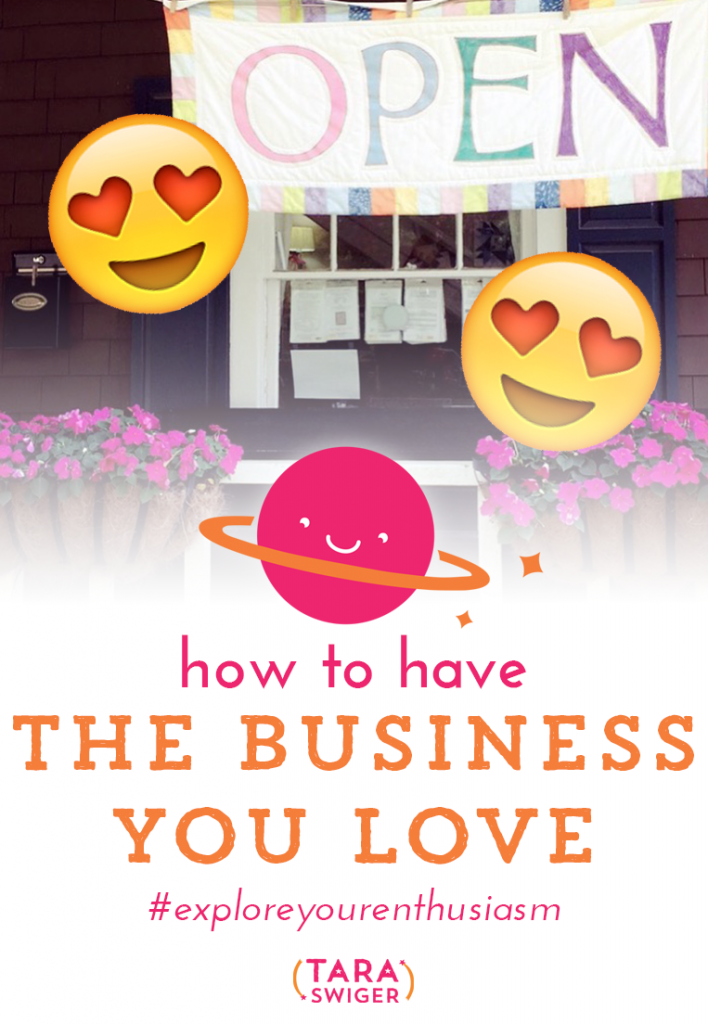 I want you to have a business you love. And by that, I don't just mean that you love making what you make, but that you also love how you're spending your time and you feel fairly compensated. Today we'll talk about the most common reasons people don't love their businesses and solutions for each one. We'll also cover the thing most likely to make you love your business. Listen in at TaraSwiger.com/podcast144/