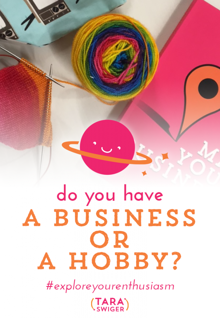 Do you have a business or a hobby? You may have turned your hobby into a business, you may make sales, but is it REALLY a business? When people talk to me about this issue, they mention taxes, business names, income… but that's not the answer. You can have a business and not have made a dime yet. And you can have a hobby that makes money. Listen for more details at TaraSwiger.com/podcast150/