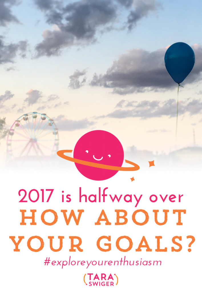 How are your goals for 2017 coming along? Get my free worksheet to review your yearly creative biz goals at TaraSwiger.com/podcast163/