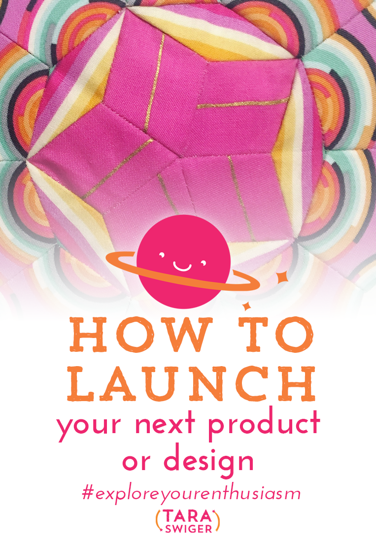 Not sure how to launch the next product or service for your creative biz? Learn how to launch anything at TaraSwiger.com/podcast162/