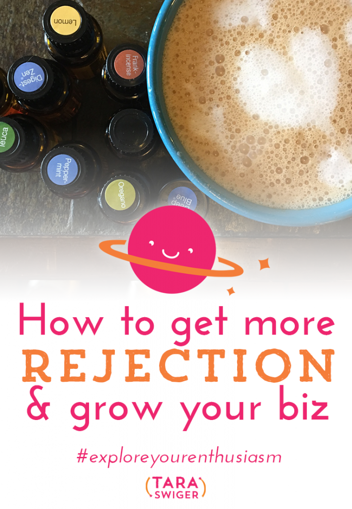 Rejection sucks, but it's vital to any creative biz! Learn all about why having people turn you down matters and why you need to focus on getting MORE rejection in order for your business to grow at TaraSwiger.com/podcast171/