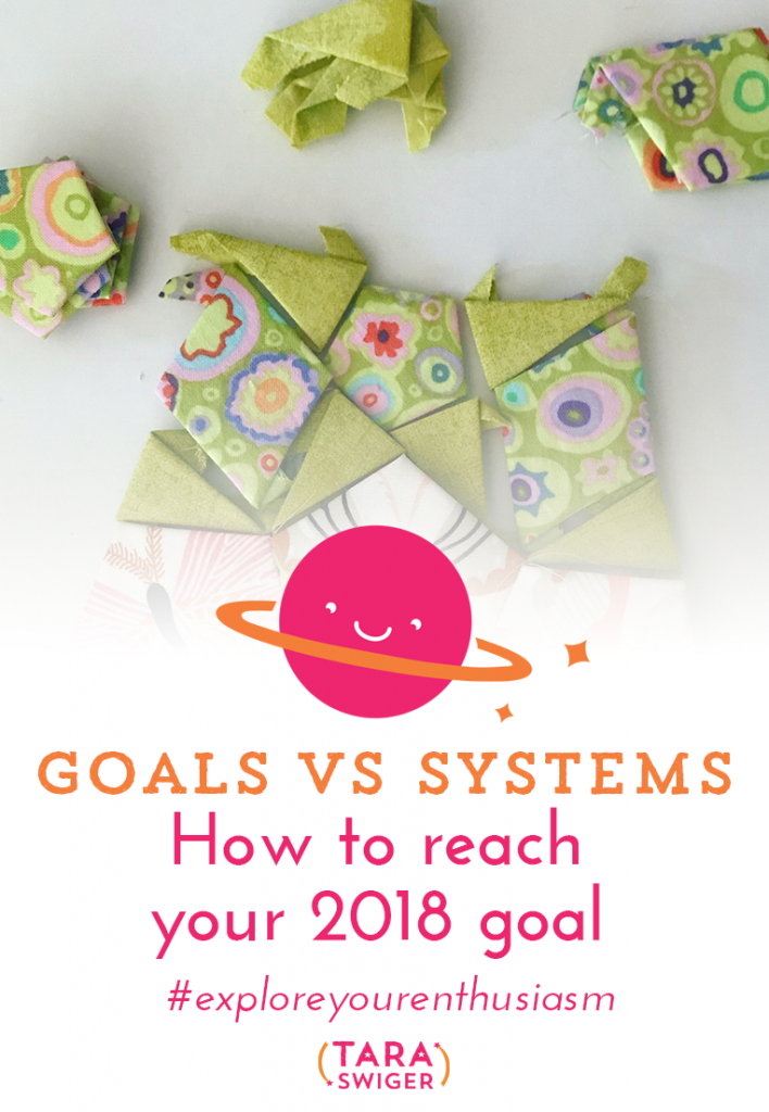 There's a big difference between setting your business goals, and achieving your goals. Learn the difference between goals and system and how to achieve your 2018 goals at TaraSwiger.com/podcast215