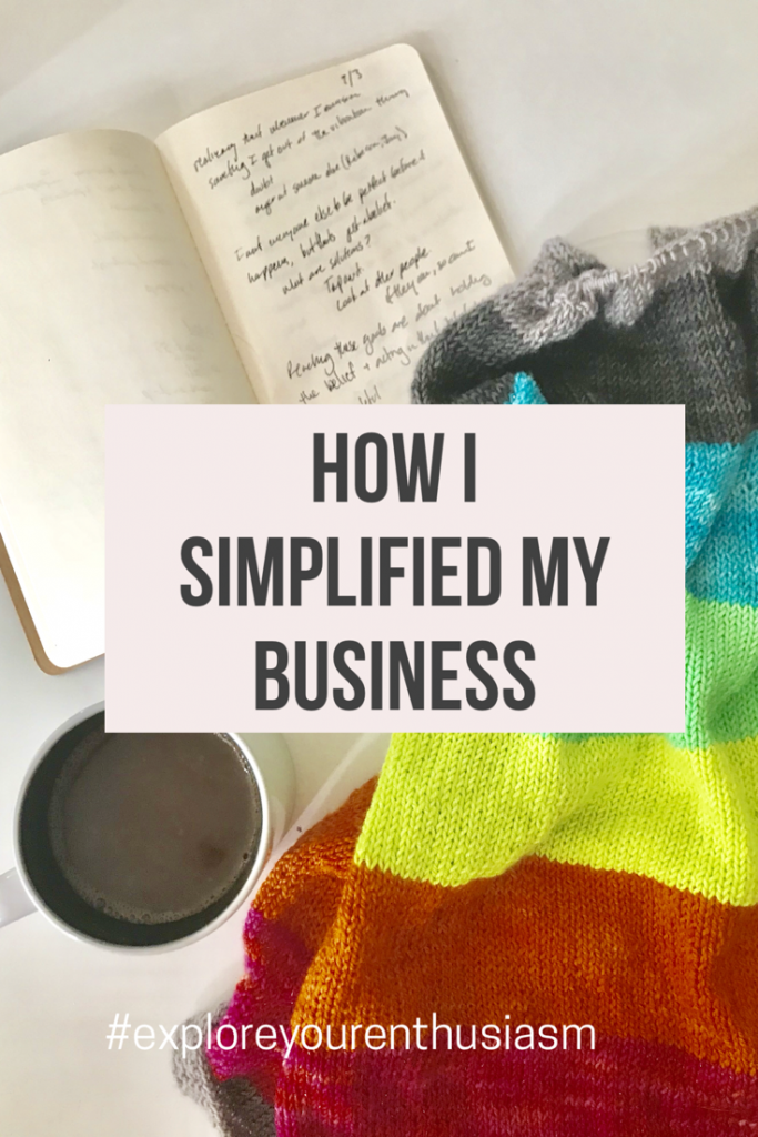 If you've been in business for awhile, it might be time to do a spring (or autumn) cleaning. Learn how I simplified my business at TaraSwiger.com/podcast224
