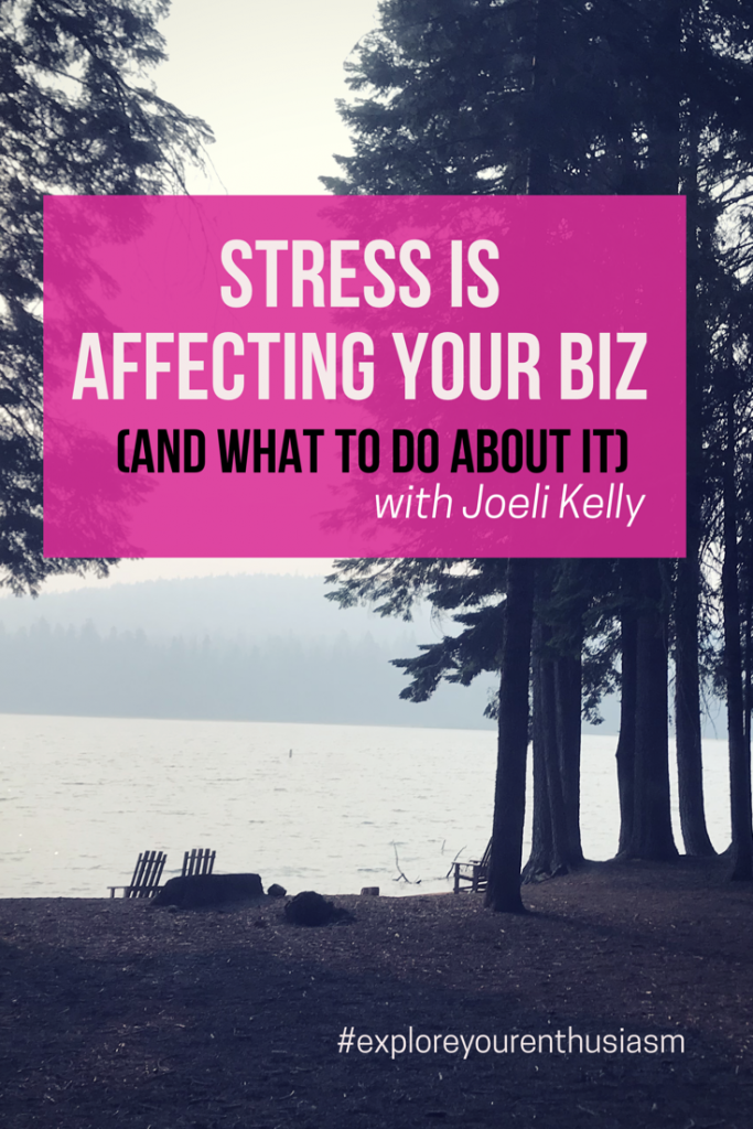 Chronic stress can have disastrous effects on your life. And when you run a creative business, these effects can spill into affecting your business too! Learn more about how to balance out the stress we all feel at TaraSwiger.com/podcast231