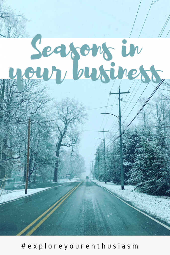 Everything has a season. This includes your business and your life! Learn more about the cycles and seasons of life and business at TaraSwiger.com/podcast245