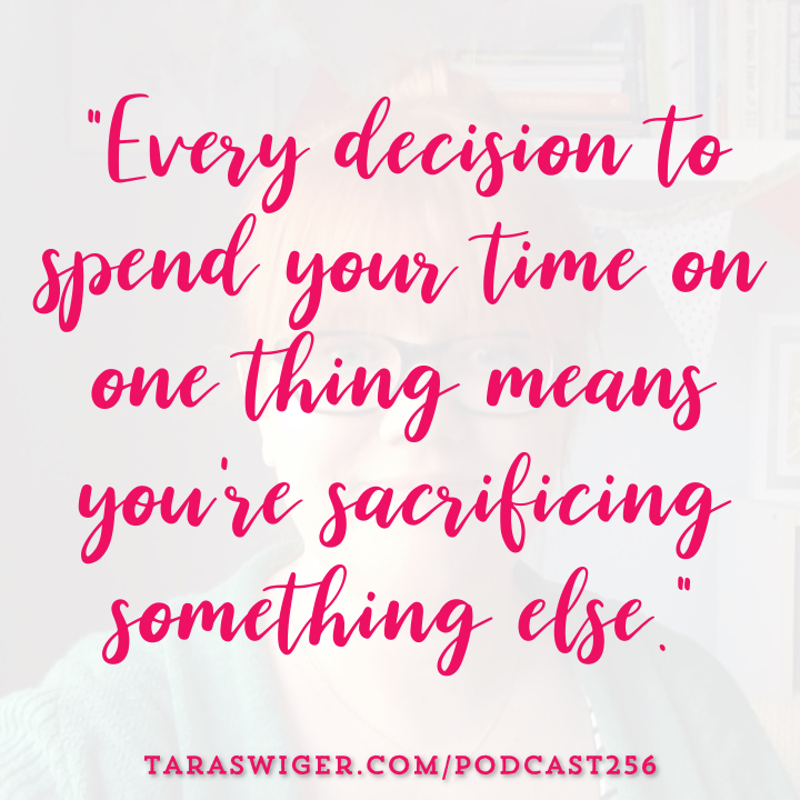 Between running a business and having a life, it feels like there's never enough time for all the things you want to do. But what do when that's the case? Learn how I handle having a list of things to do that is far too long to get done at TaraSwiger.com/podcast256