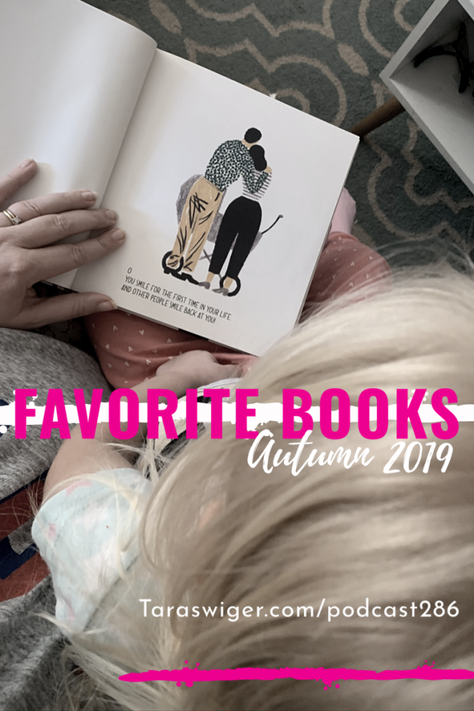 What I'm reading Fall 2019: I explore my enthusiasm by reading… a lot. Learn all about the books I've been enjoying over the last month at TaraSwiger.com/podcast286